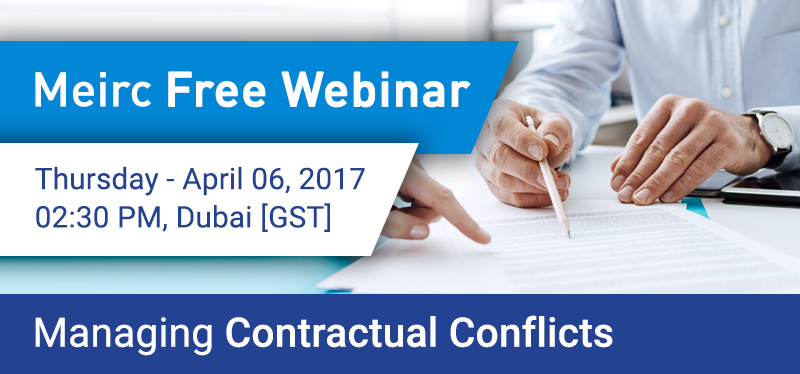 Managing Contractual Conflicts